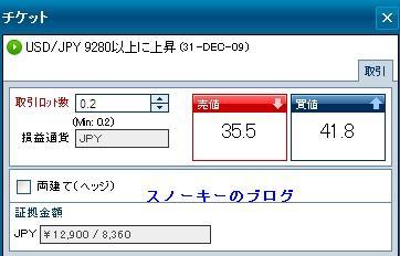 20091231バイナリーオプション