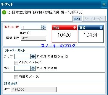 ミニ・日本225種株価指数